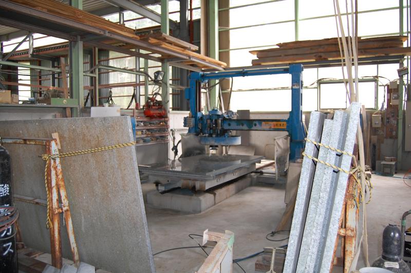 石材工場設備